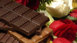癒されるチョコレート