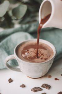 広く広まった飲むチョコレート