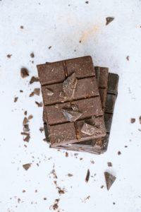 食べるチョコレートの発明