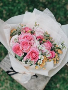 ロリポップは花束のように可愛らしいのです。