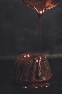 なめらかなチョコレート