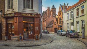 ベルギーブルージュ創業の老舗ショコラトリーが原宿にあります。