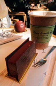 グリーンビーントゥバーの看板ケーキのマラノン