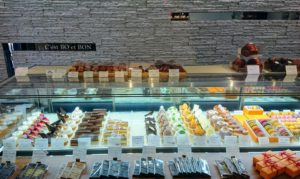 本格フランス菓子を頂けるお店。