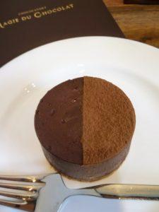 スフレタイプのチョコレートも美味しい!