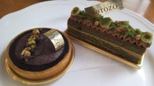 秋冬に多く出てくるチョコレートケーキもお見逃しなく!