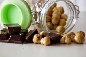 ヘーゼルナッツとチョコレート